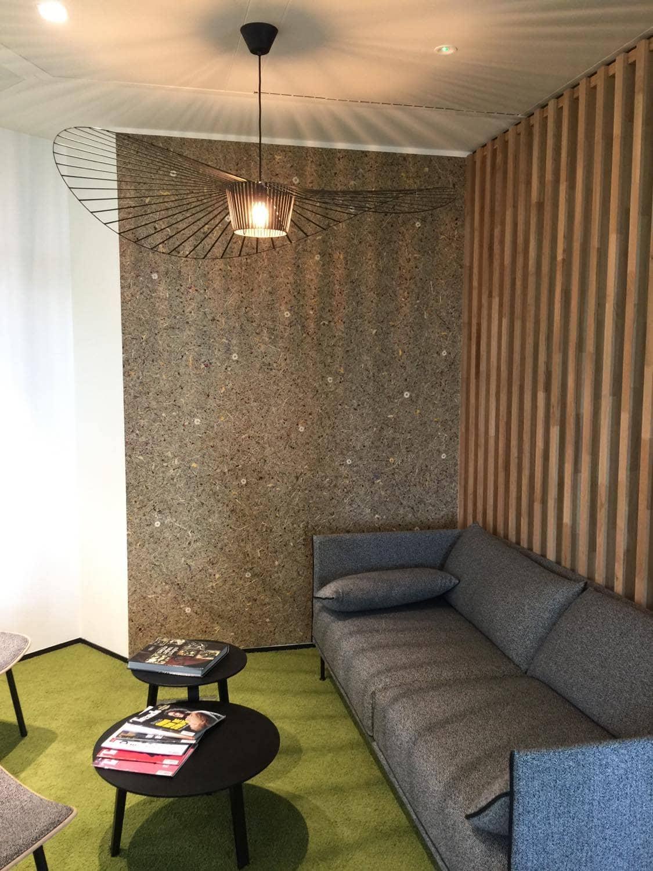 Organoid wall coverings