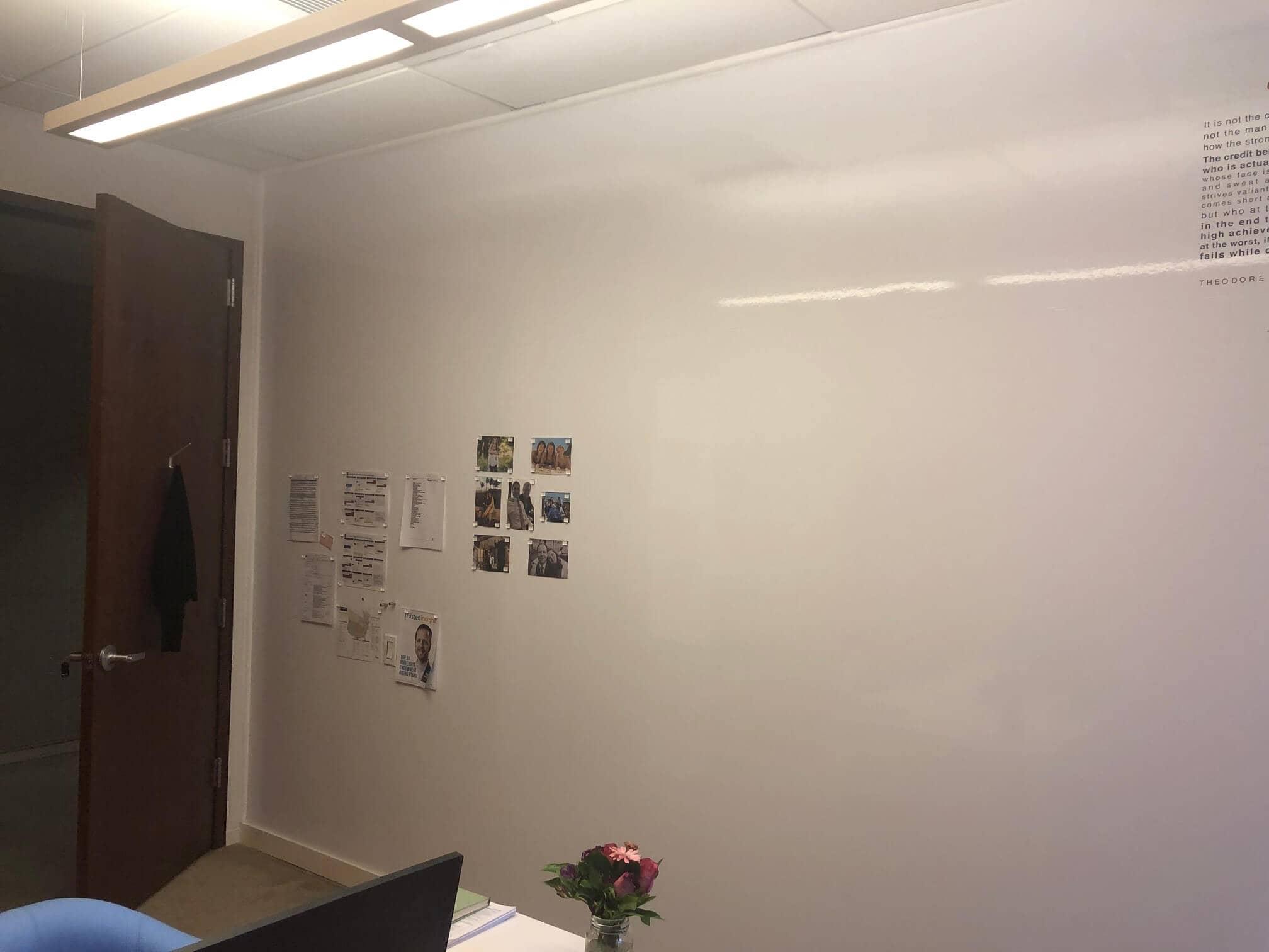Alterity whiteboard wall