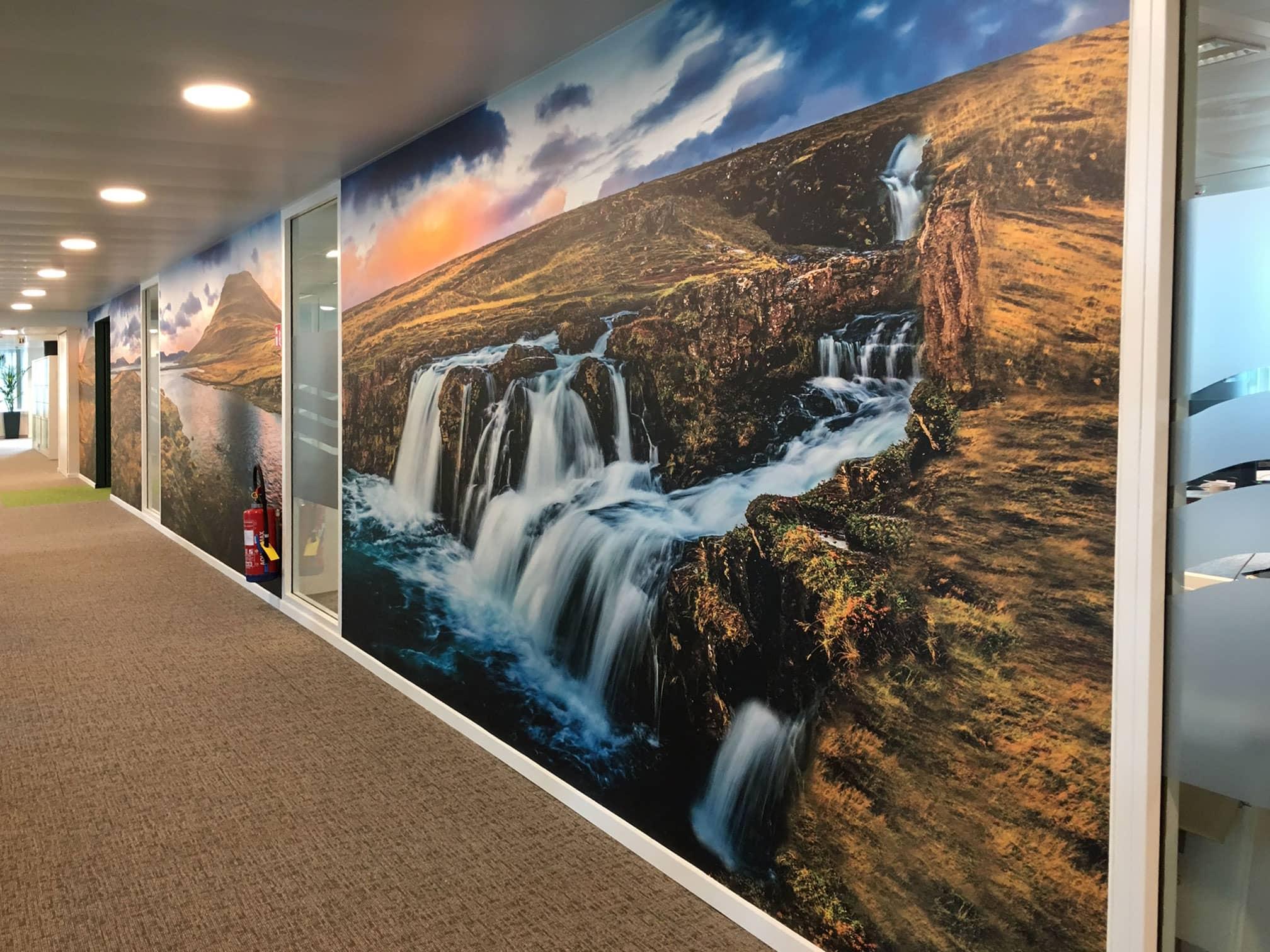 Fedris wall color prints