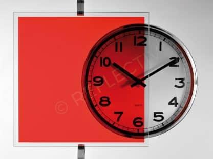 Vermillion red color film