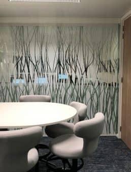 Diamond center decorative foils foils