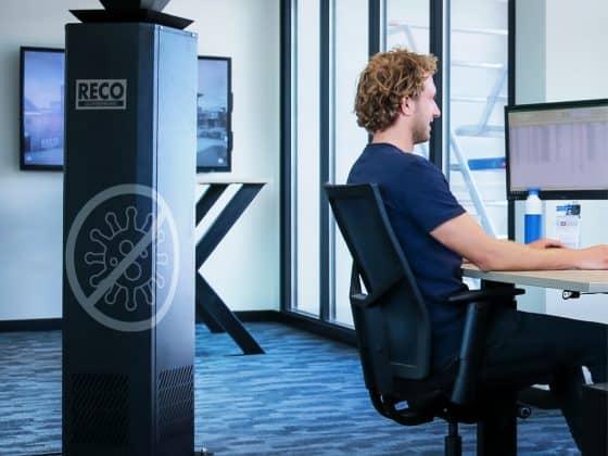 Coronaproof luchtreiniger voor kantoren